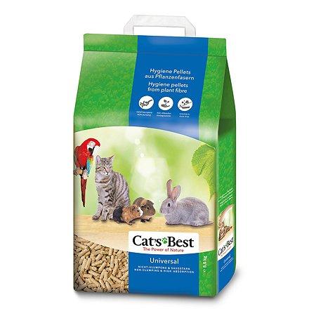 Наполнитель для кошек Cats Best Universal древесный впитывающий 5.5кг