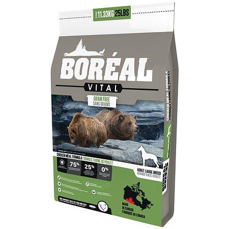 Корм для собак Boreal Vital крупных пород с курицей 11.33кг