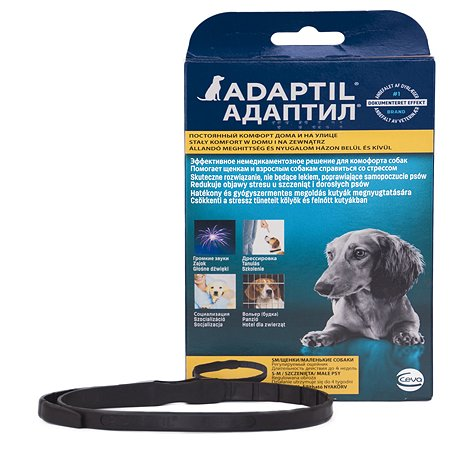 Феромоны для собак Adaptil ошейник для щенков и собак мелких пород S