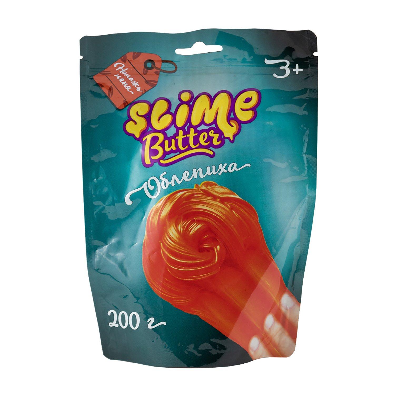 Лизун Slime Ninja Butter аромат облепихи 200г SF02-M