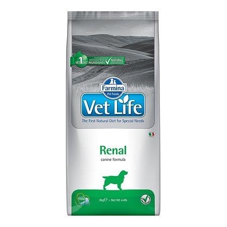 Корм для собак Farmina VetLife ренал с почечными заболеваниями 2кг