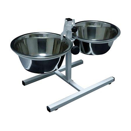Подставка для кормления собак Fetras с мисками для питомца Тайсон 2 х 0.75 л