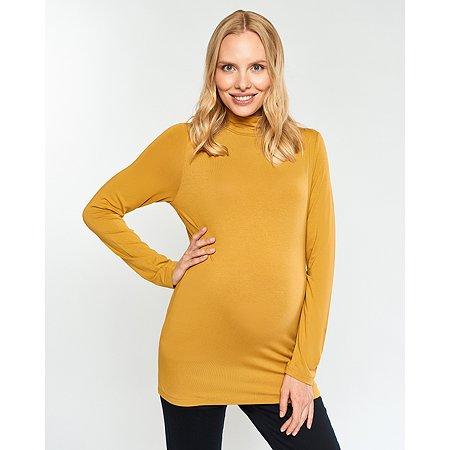 Водолазка для беременных Futurino Mama жёлтая