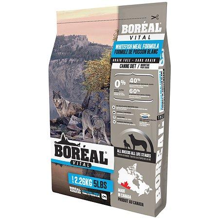 Корм для собак Boreal Vital с белой рыбой 2.26кг