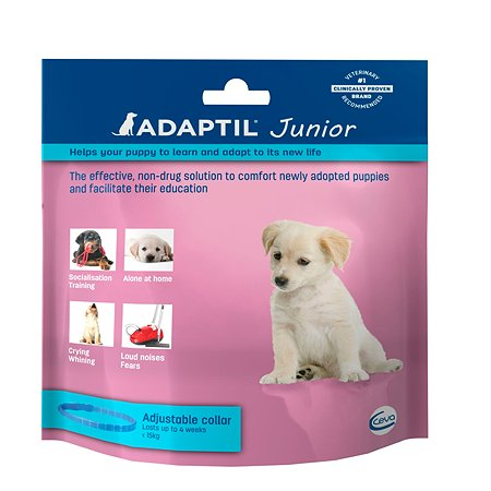 Феромоны для собак ADAPTIL JUNIOR ошейник