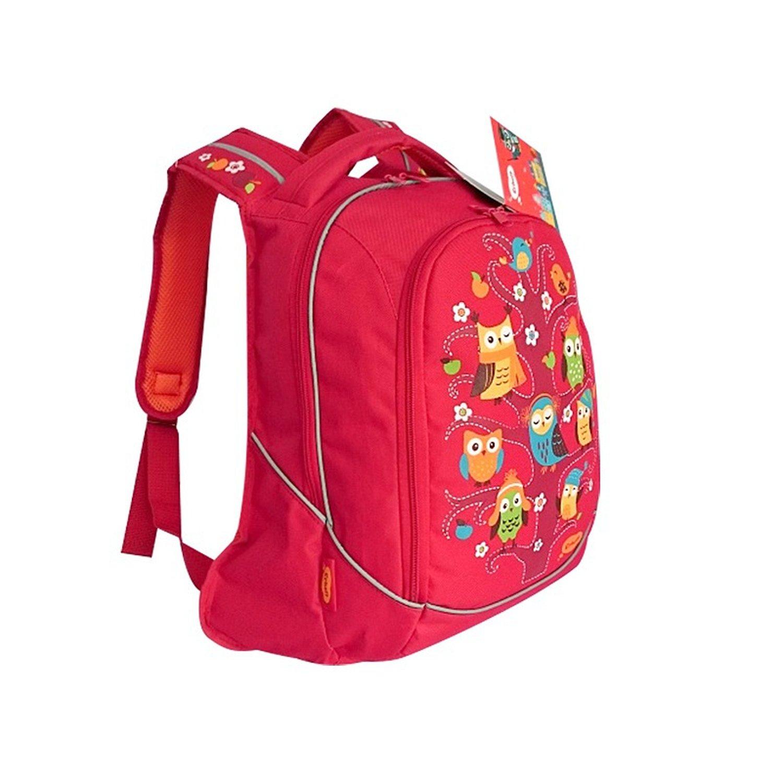 e2ff53e0397e Рюкзак школьный Erhaft Совы (красный) - купить в интернет магазине ...
