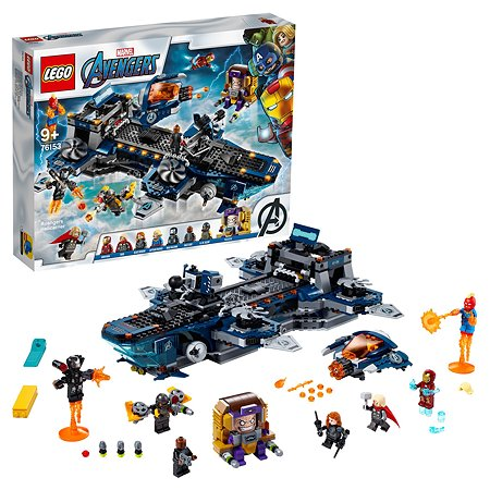 Конструктор LEGO Super Heroes Геликарриер 76153
