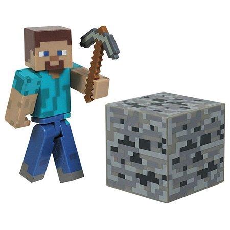 Набор фигурок Minecraft Стив 3 предм. 14х17см