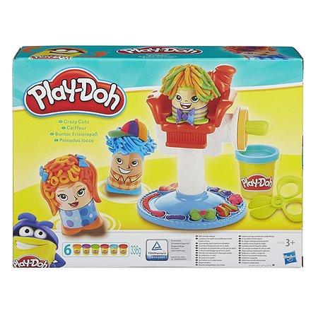 Набор Play-Doh Сумасшедшие прически