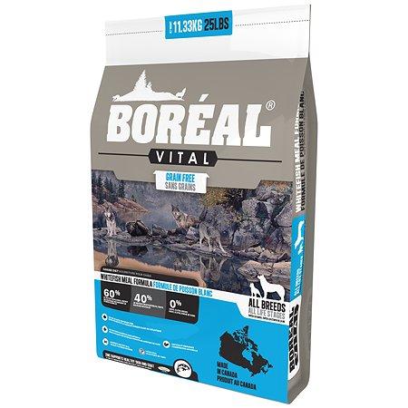 Корм для собак Boreal Vital с белой рыбой 11.33кг