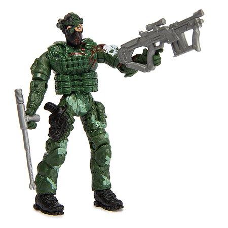 Военный набор Global Bros Герои-1 (солдатик и аксессуары)