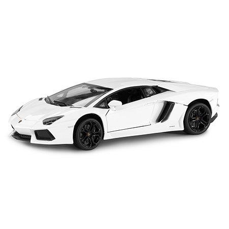 Машинка Rastar Lamborghini LP700 1:18 белая