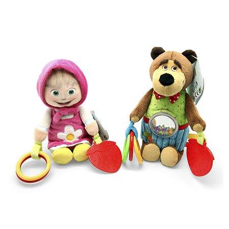 Погремушка плюш Simba Маша и Медведь