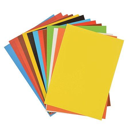 Набор для творчества Cullinan Далматинцы A4 (картон 8 цв. + цветная бумага 8 цв.)