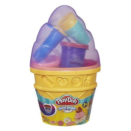 Набор Play-Doh Контейнер с мороженым