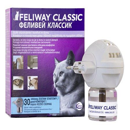 Феромоны для кошек Feliway Классик флакон+диффузор 48 мл