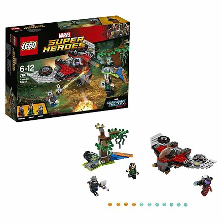 Конструктор LEGO Super Heroes Нападение Тазерфейса (76079)