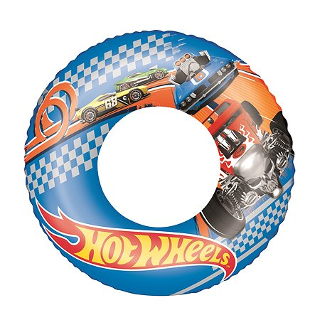 Круг для плавания Bestway Hot Wheels 93401