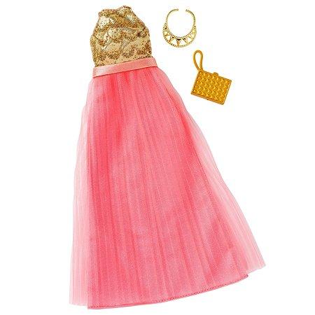 Одежда для кукол Barbie Универсальное праздничное платье FBB71