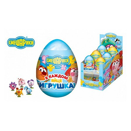 Драже Конфитрейд волшебное яйцо с 3D игрушкой 20г