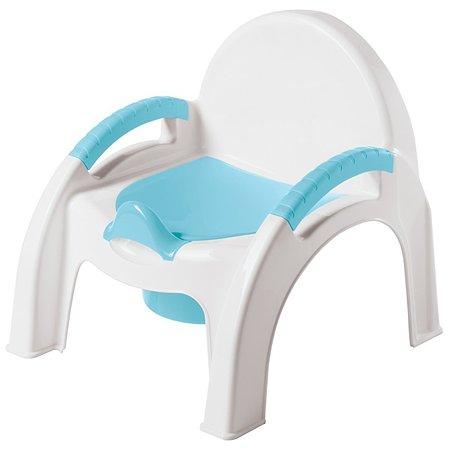Горшок-стульчик Пластишка Голубой