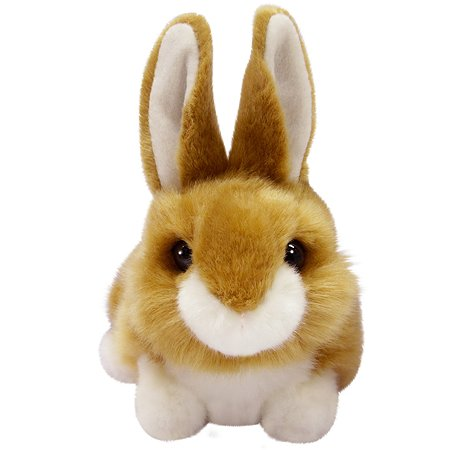 Мягкая игрушка Aurora Кролик коричневый