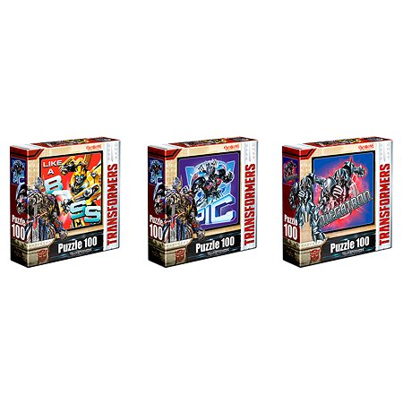 Пазл ORIGAMI Transformers 100А 03282 в ассортименте