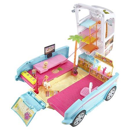 Раскладной фургон Barbie для щенков