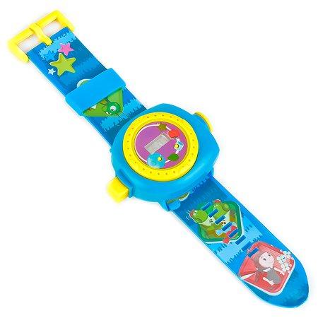 Игрушка часы УМка Лунтик с проекцией на блистере