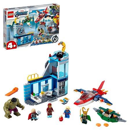 Конструктор LEGO Super Heroes Мстители Гнев Локи 76152