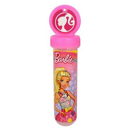 Мыльные пузыри 1TOY Barbie в колбе 30мл Т11462