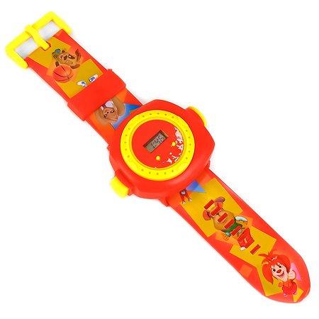 Игрушка часы УМка Барбоскины с проекцией на блистере