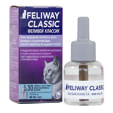Феромоны для кошек Feliway Классик для коррекции поведения сменный блок 48мл
