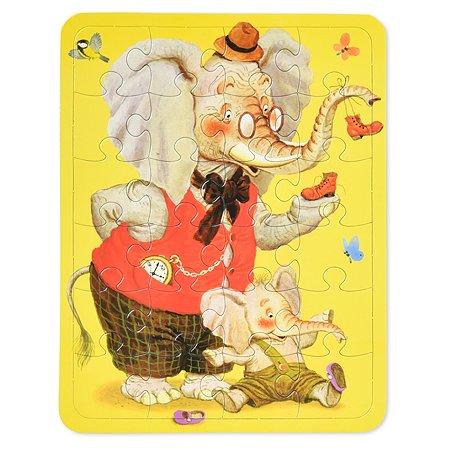Волшебный чемоданчик с пазлами АСТ Для малышей С. Маршак