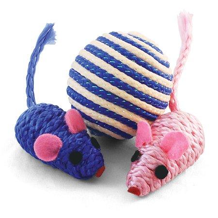 Набор игрушек для кошек Triol XW7007 3шт 22181055