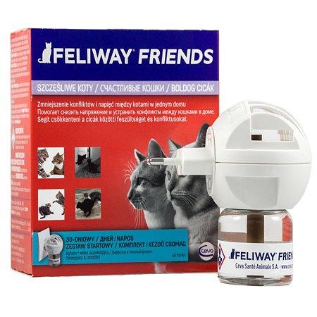 Феромоны для кошек Feliway Friends для коррекции поведения диффузор +флакон 48 мл