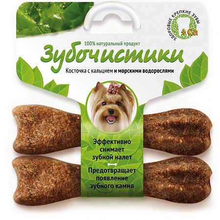Лакомство для собак Зубочистики мелких пород Морские водоросли 2шт