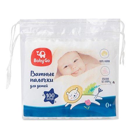 Палочки ватные Baby Go 100шт 9724