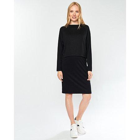 Платье для беременных Futurino Mama чёрное
