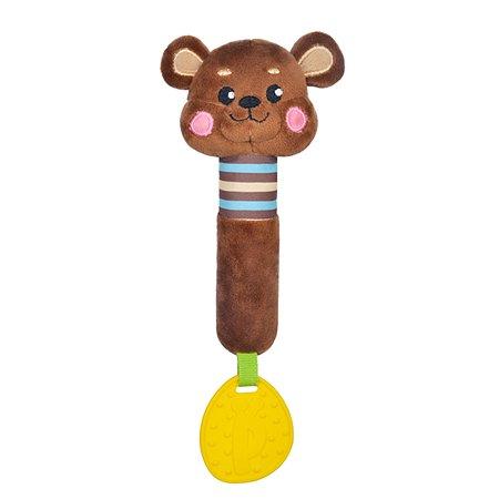 Пищалка Жирафики Мишка с прорезывателем 939517