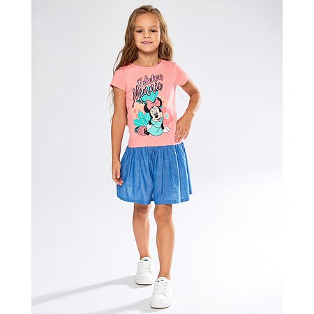 Платье Minnie Mouse коралловое