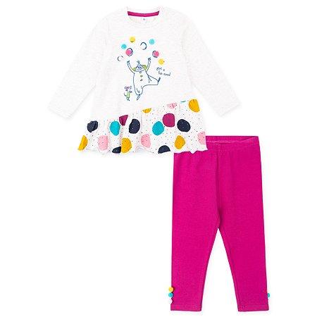 Комплект PlayToday платье + легинсы