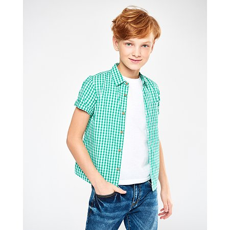 Рубашка Futurino зелёная
