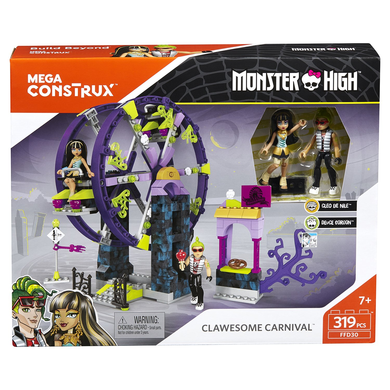 конструктор Mega Bloks Monster High школьный карнавал