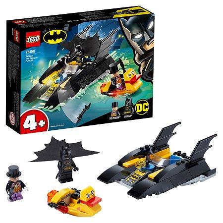 Конструктор LEGO Super Heroes Погоня за Пингвином на Бэткатере 76158