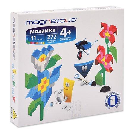 Мозаика магнитная MAGNETICUS Цветы 272 элементов 11 цветов MM-012