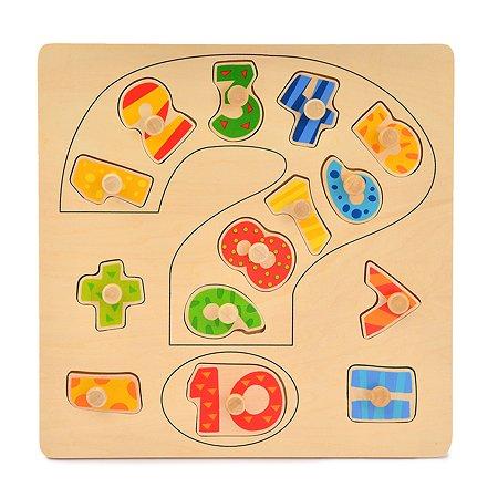 Пазл деревянный ABC Учимся считать YJ2321702023