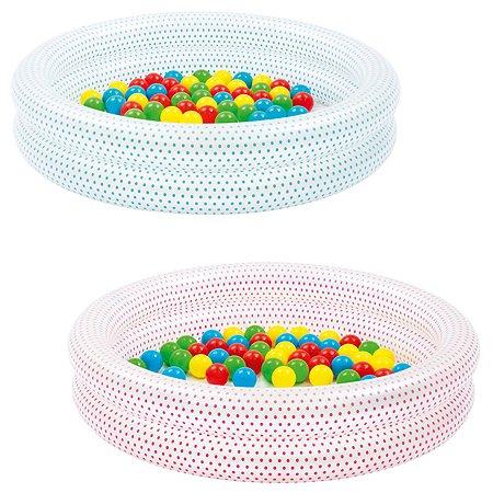 Бассейн надувной Bestway с шариками в ассортименте 51141