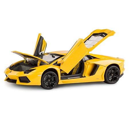 Машинка Rastar Lamborghini LP700 1:18 желтая
