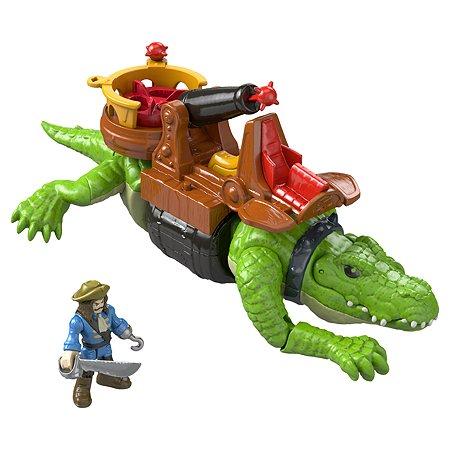 Набор игровой IMAGINEXT Капитан Крюк и крокодил